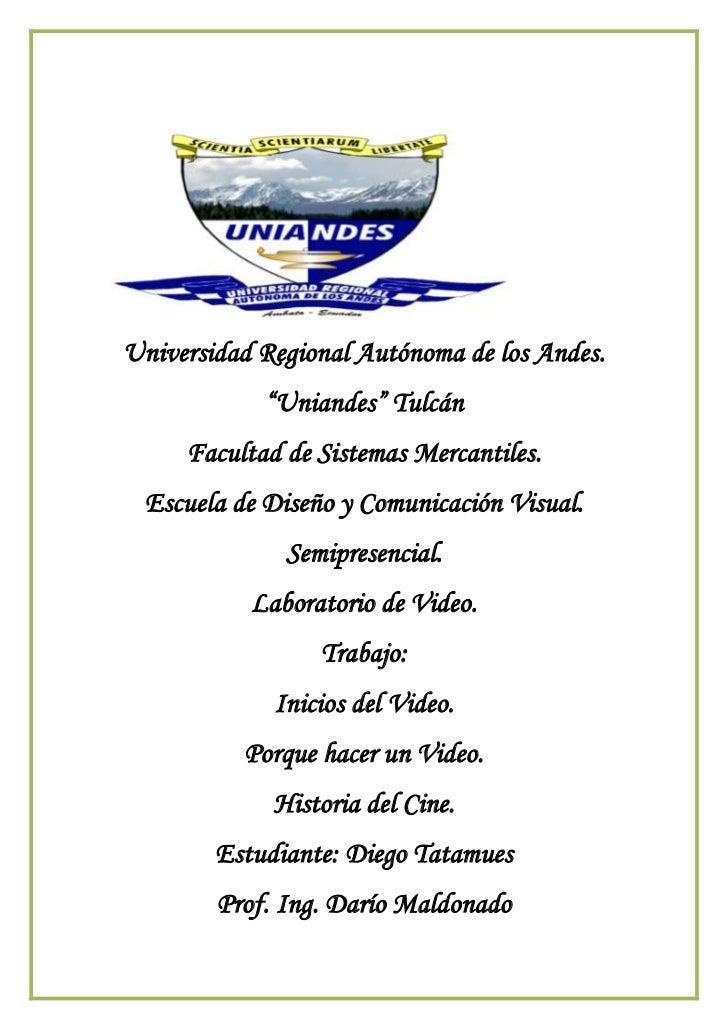 """<br />Universidad Regional Autónoma de los Andes.<br />""""Uniandes"""" Tulcán<br />Facultad de Sistemas Mercantiles.<br..."""