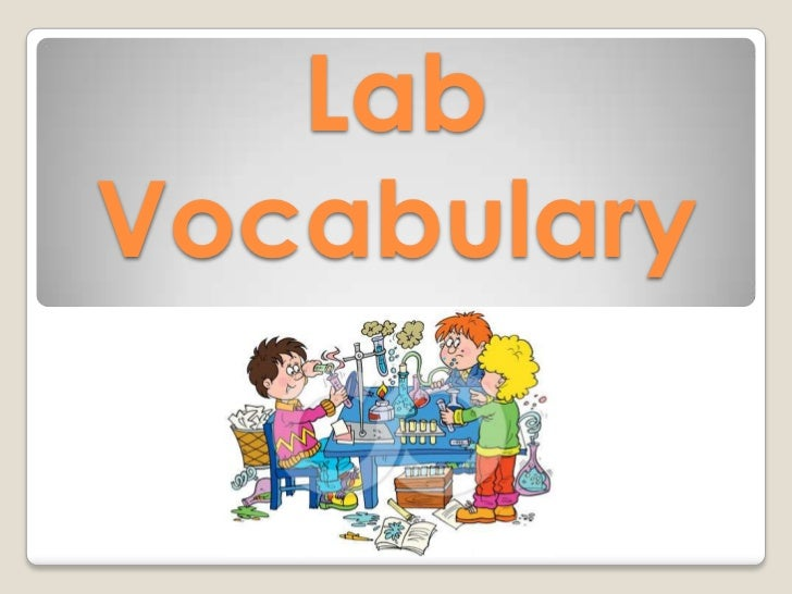 Lab vocabulary