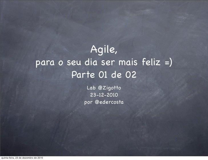 Um pouco de Agile