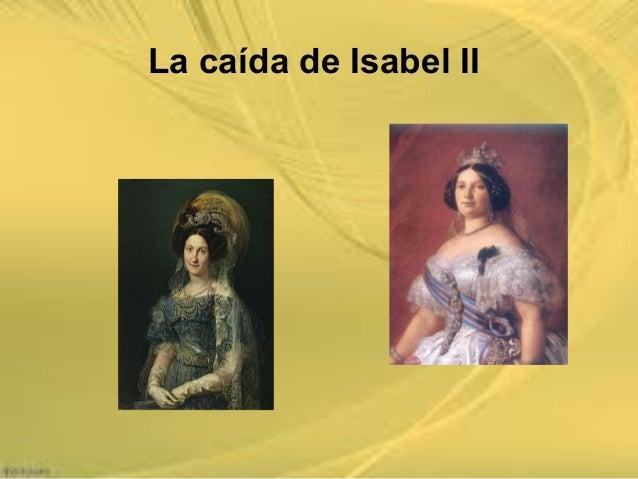 La caída de Isabel II