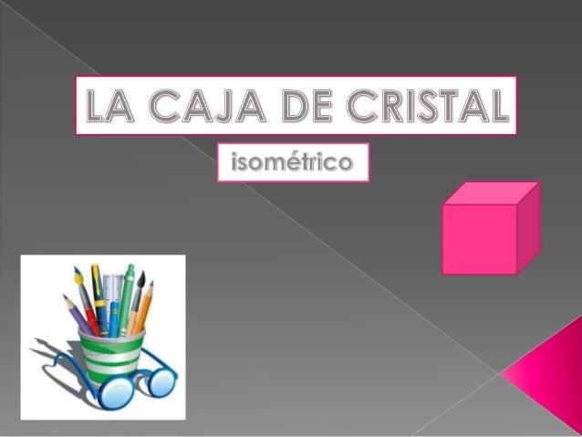  Los dibujos isométricos son un tipo dedibujo en perspectiva, en el cual se tratade representar un objeto en 3dimensiones.