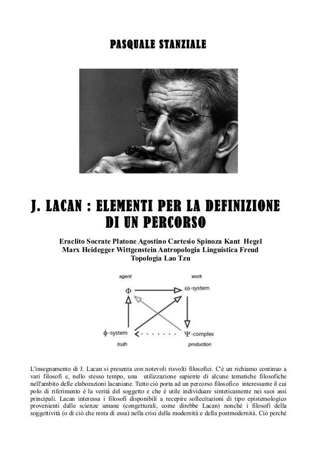 Lacan filosofia