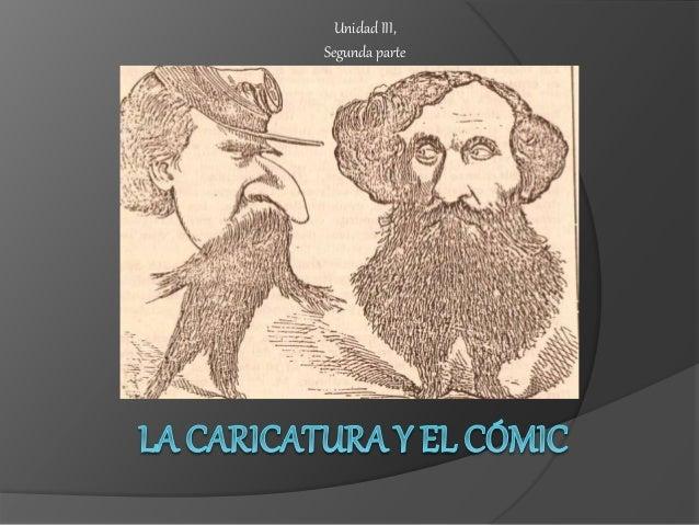 La Caricatura Y El CóMic