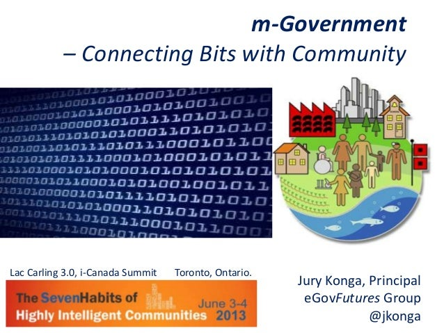 m-Government - Connecting Bits with Community