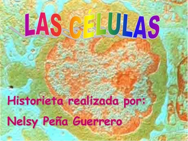 Historieta realizada por: Nelsy Peña Guerrero