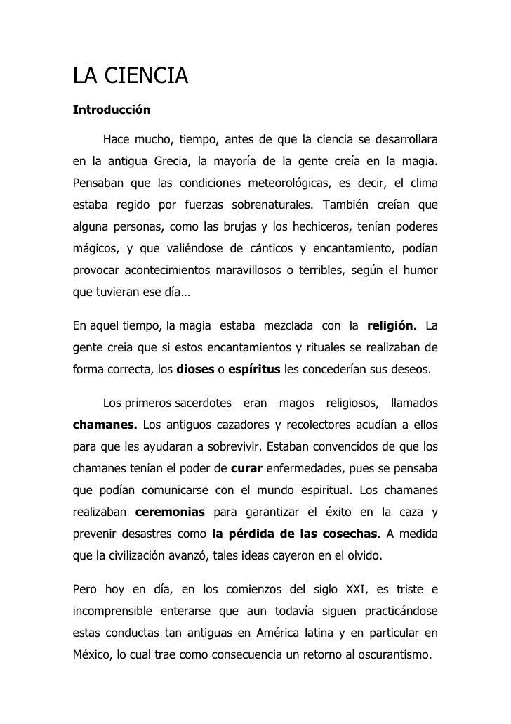 CIENCIA Y METODO