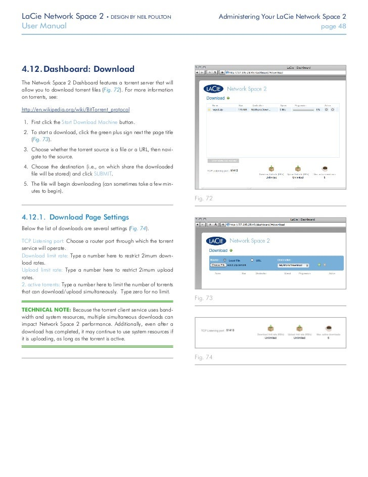 lacie network space 2 manual
