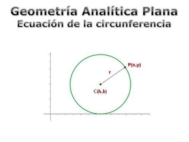  Introducción   Ecuación de la circunferencia; forma ordinaria  Forma general de la ecuación de la circunferencia  Det...