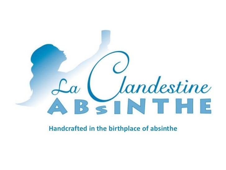 La Clandestine Presenttation 010912