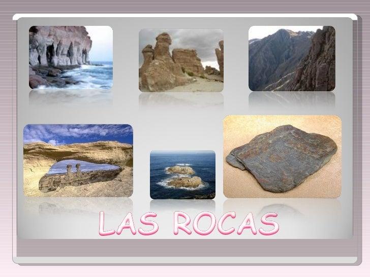 La clasificación de las rocas