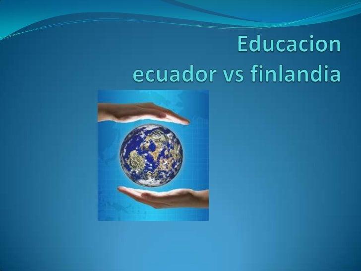 Maestros Autorrealizados Emocionalmente los          En el Ecuador los  maestros finlandeses         Maestros se sienten...