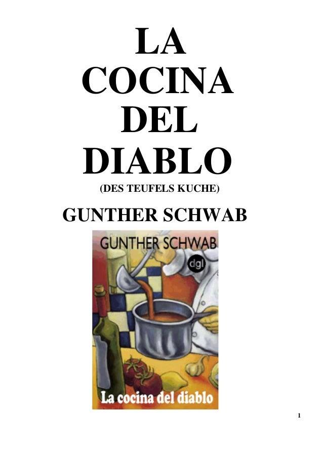 1 LA DEL DIABLO(DES TEUFELS KUCHE) GUNTHER SCHWAB COCINA
