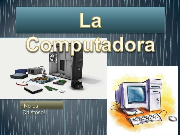 La computadora de emanu