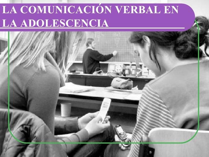 La comunicación en la adolescencia