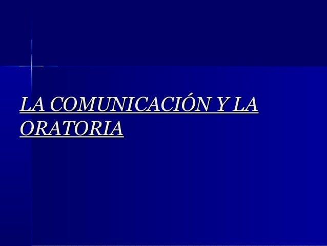 LA COMUNICACIÓN Y LAORATORIA