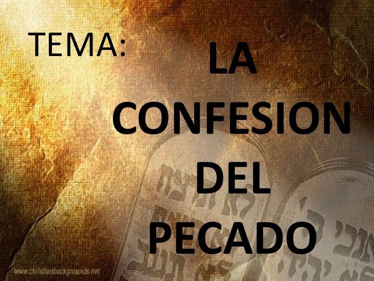 Resultado de imagen para La confesión de los pecados