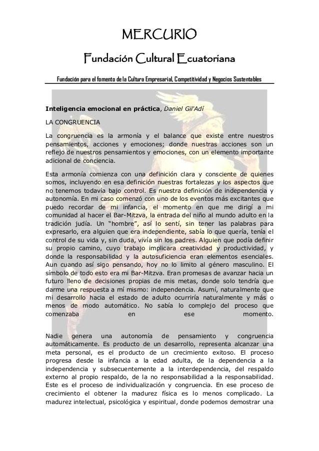 MERCURIO               Fundación Cultural Ecuatoriana    Fundación para el fomento de la Cultura Empresarial, Competitivid...