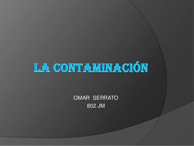 OMAR SERRATO 802 JM