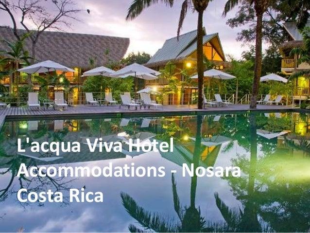 L'acqua Viva Hotel Accommodations - Nosara Costa Rica