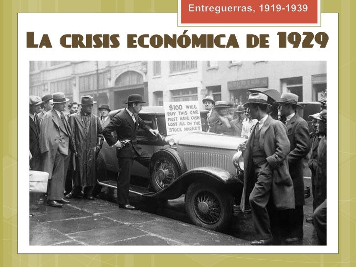 que origino el crack financiero de 1929