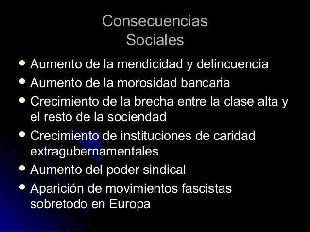 La Crisis De 1929 Causas Consecuencias Y Comparativa Con