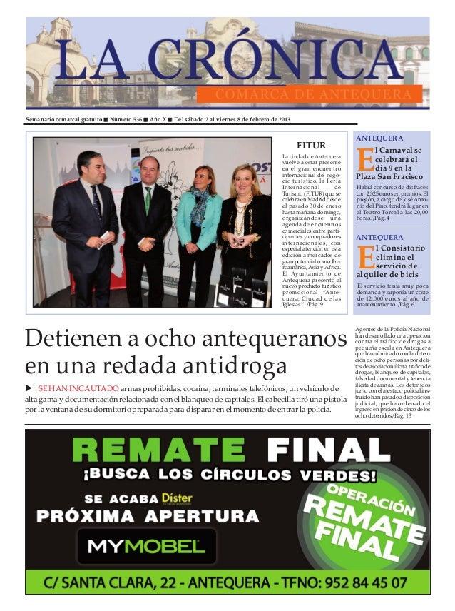 Semanario comarcal gratuito   Número 536   Año X   Del sábado 2 al viernes 8 de febrero de 2013                           ...