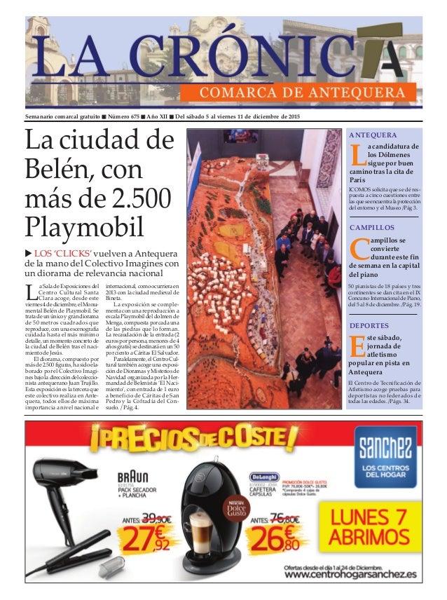 Semanario comarcal gratuito n Número 675 n Año XII n Del sábado 5 al viernes 11 de diciembre de 2015 L a candidatura de lo...