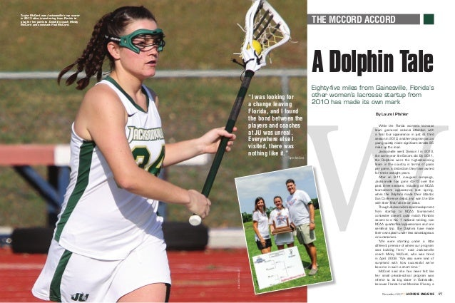 Lacrosse magazinearticlemccords