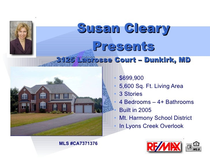 3125 Lacrosse Court - Dunkirk, MD - Home for Sale
