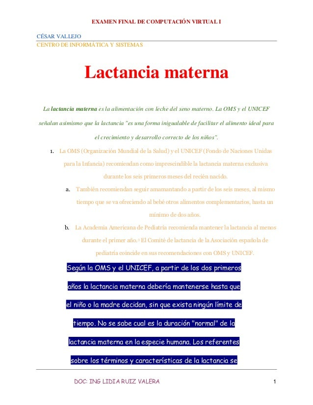 Lactanciamaterna