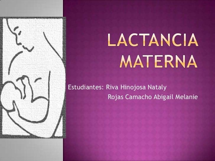 Lactancia materna expo