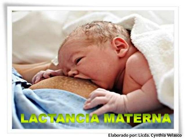 Lactancia materna y sus beneficios