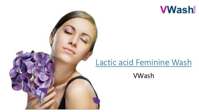 lactic acid feminine wash