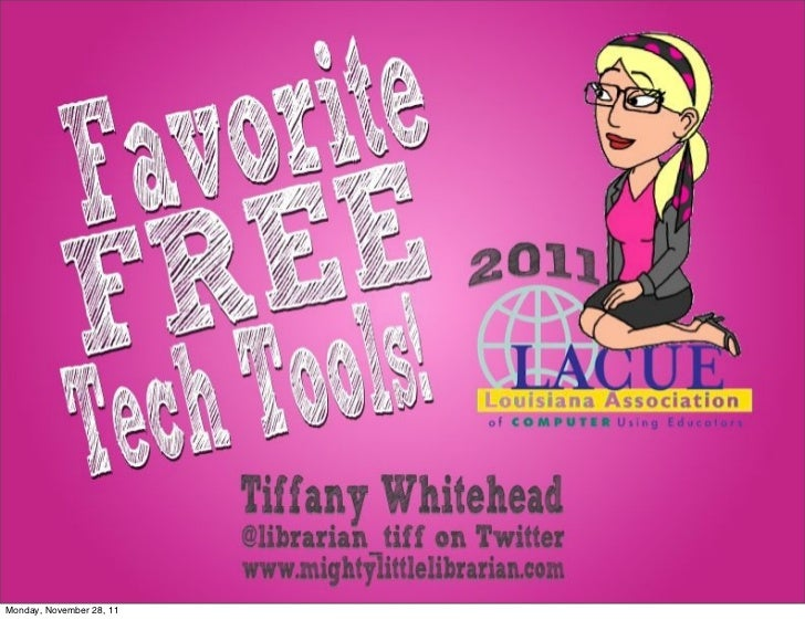 Favorite FREE Tech Tools