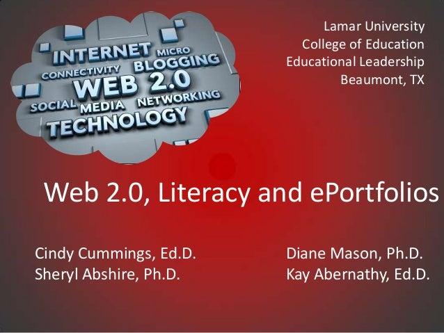 Lamar University                          College of Education                        Educational Leadership              ...