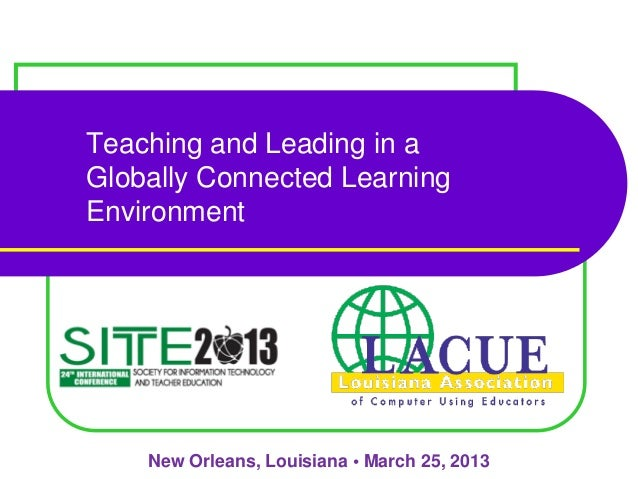 Lacue-SITE Conference Mobile Learning 3 25-13