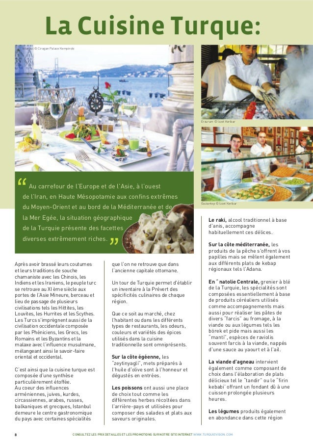 La cuisine turque for Cuisine turque
