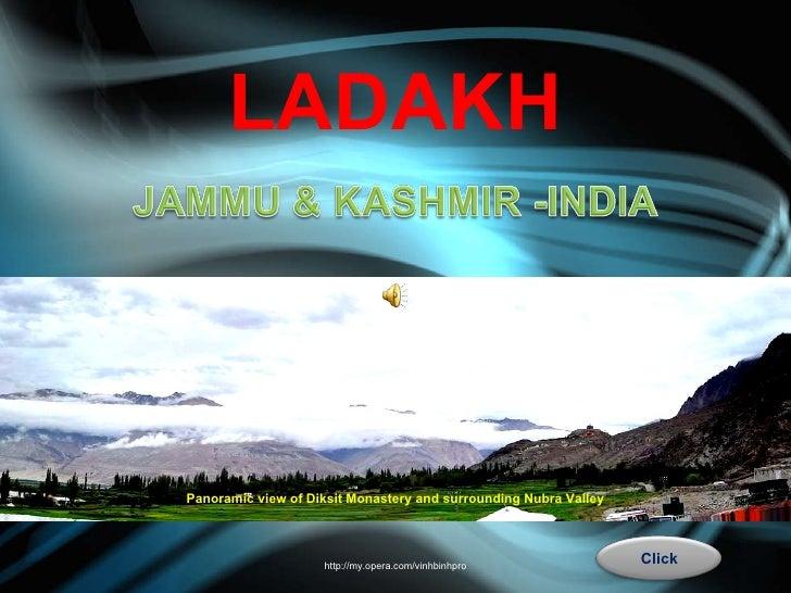 LADAKH - Jammu & Kashmir - INDIA