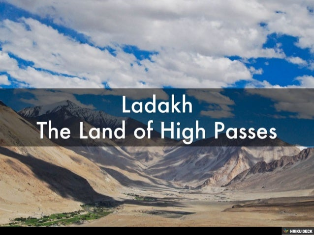Ladakh The Land of High Passes