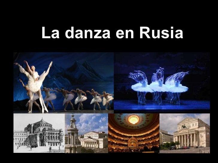 La danza en Rusia