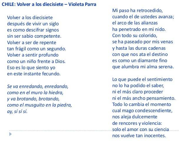 poemas de violeta parra
