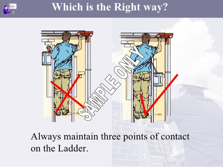 Ladder Safety Demo