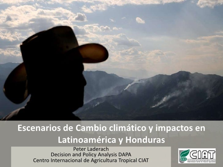 Laderach P - Examples of climate change impacts in Latin America