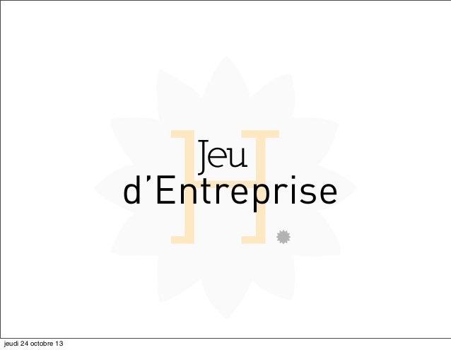 Jeu d'entreprise ISCOM 2013 - Recommandation Stratégique - Domhélia