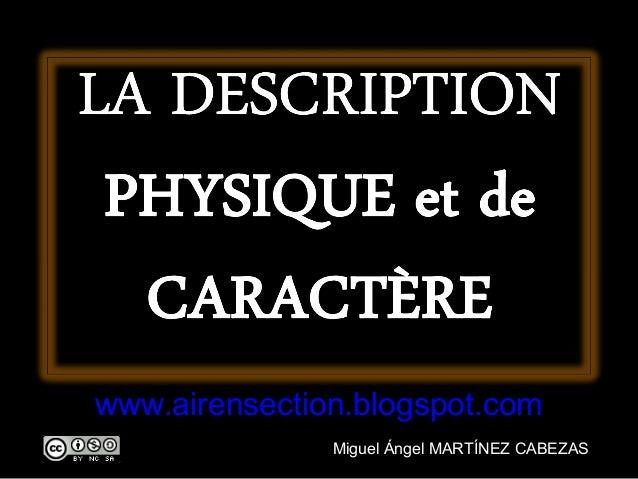 www.airensection.blogspot.com               Miguel Ángel MARTÍNEZ CABEZAS
