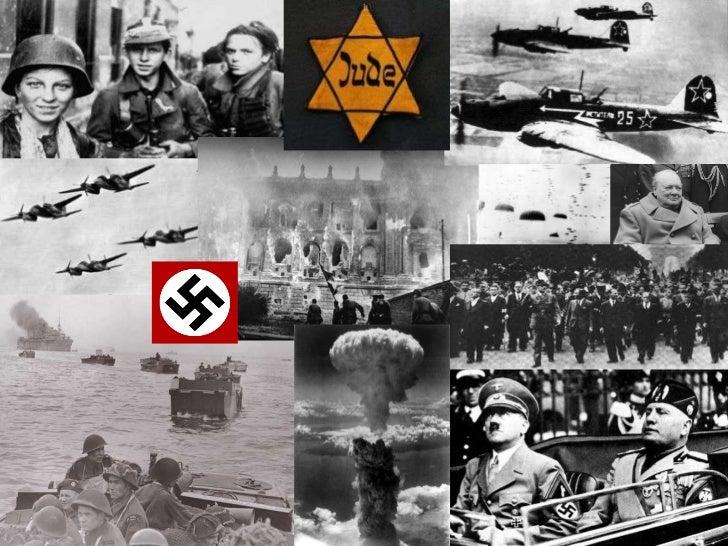 La Deuxième Guerre mondiale ( 1 er septembre 1939 au 2 septembre 1945)