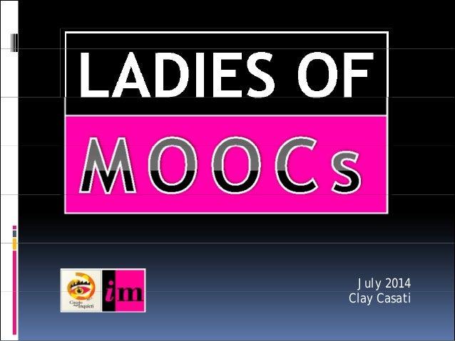 The Ladies of MOOCS