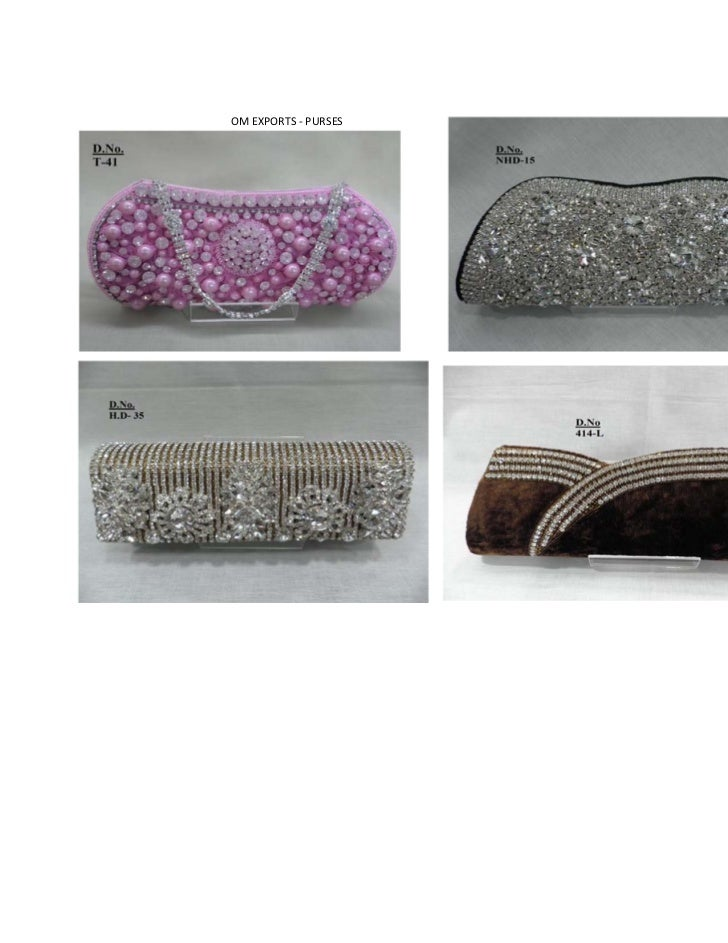 Clutches And Costume Jewelry Om Exports