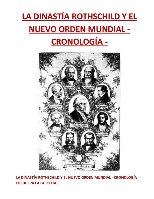 La dinastía rothschild y el nuevo orden mundial