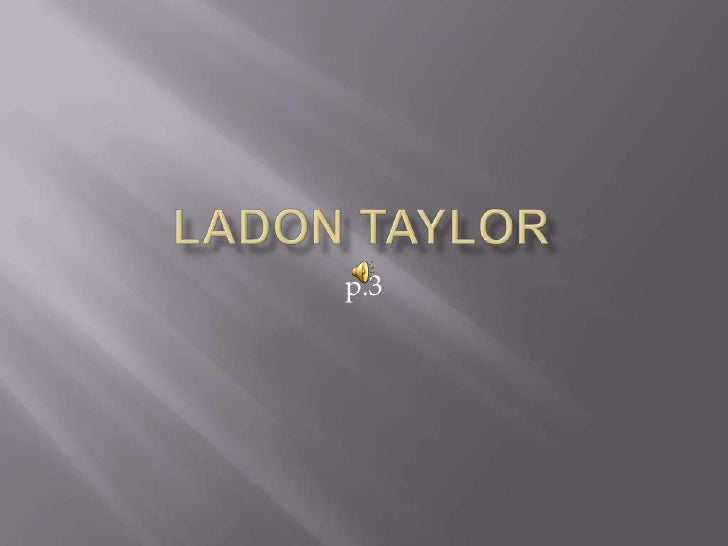 Ladon taylor (do not toch )